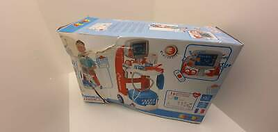 Smoby 340202 Kids Medical Trolley, Doctor Playset, Portable Cart • 24.96£