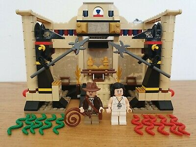 LEGO Indiana Jones And The Lost Tomb 7621, Complete, No Box Or Instructions • 30£