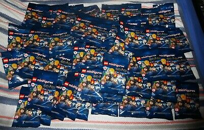 OFFICIAL LEGO HARRY POTTER SERIES 2 MINI FIGURES 71028 - (69 Bags Still Sealed) • 160£