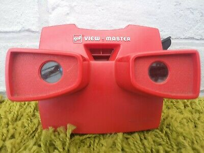 View Master Viewer Viewmaster GAF 1970's Model Red • 14.99£