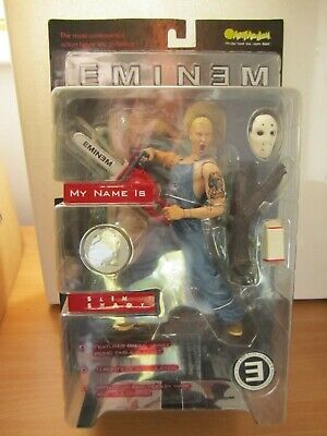 Eminem Action Figure & Diorama Rare Art Asylum 76200 BNIB - Slim Shady Chainsaw • 125£