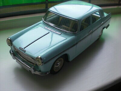 Joustra Peugeot 404 France,tinplate Toy Tin Car Friction Drive Working  • 220£