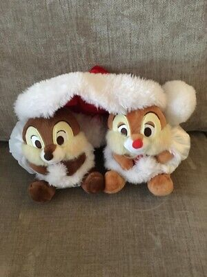 Christmas Chip And Dale Plush • 7.50£