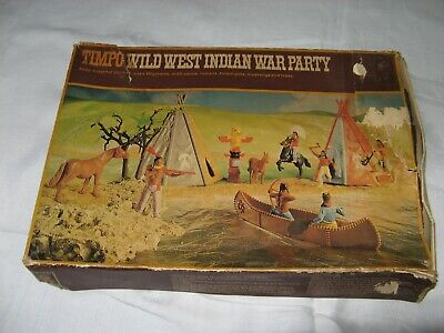 Timpo - Wild West Indian War Party - Boxed.  Aj • 25£