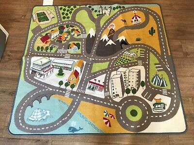 Ikea Road Map Mat. Good Condition • 4.99£