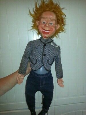 Vintage Mr. Parlanchin Ventriloquist Dummy/doll Puppet • 150£