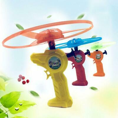 12pcs/set Luminous Flying Saucer Pull String LED Light Handle Flying Disc Toy • 11.96£