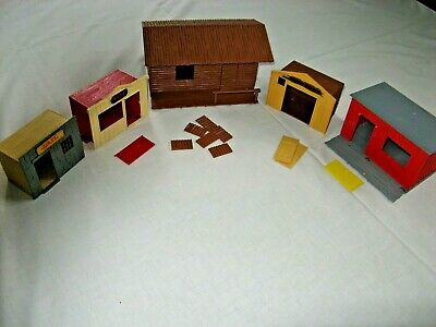 Timpo - Five Buildings For Spares Or Repairs.  Aj • 25£