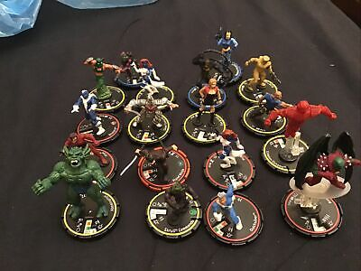 18 Marvel Heroclix Models • 9.75£