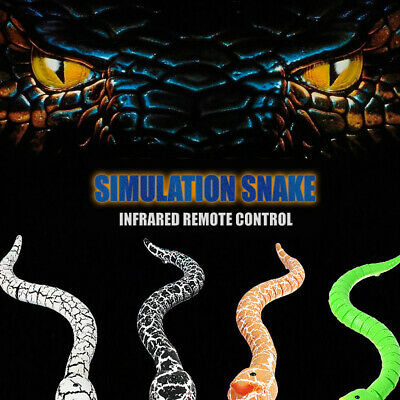 16 Inch Realistic Remote Control RC Snake Toy With Shaped Infrared Control Toy • 14.99£