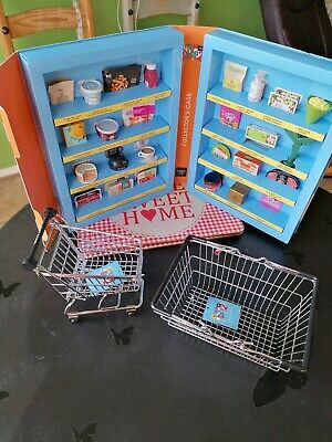 Collectable Toy m&s Iconic Little Shop Unused With Trolly&Basket • 0.99£