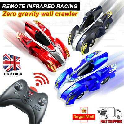 Electric RC Wall Climbing Remote Control Rechargeable Racing Car Kids Toys Gifts • 13.99£