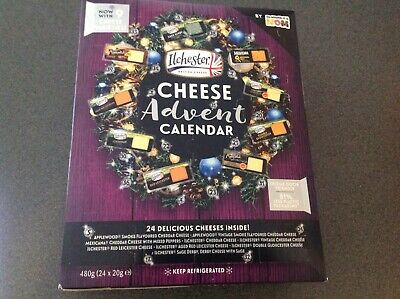 2020 Ilchester Cheese Advent Calendar-24 Individually Wrapped Cheese  • 19.95£