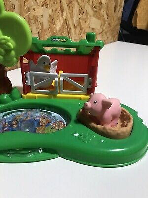 Fisher Price Rate Little People Farm Playset With Pig Pen And Duck Pond • 2.90£