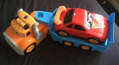 Large Toy Low-loader With Car • 2£
