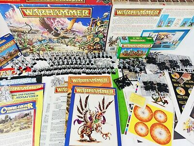 The Game Of Fantasy Battles 4th Edition, Warhammer Unused + EXTRAS [ENG,1992] • 229.95£