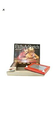 Vintage Etch A Sketch Drawing Game ~ Boxed ~ Full Working Order  • 24.99£