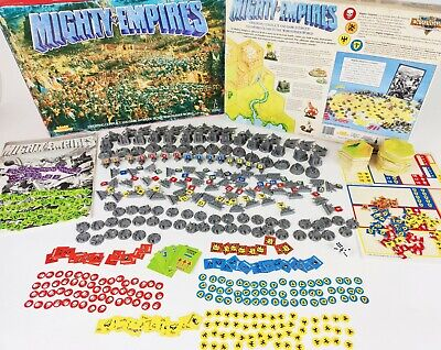Mighty Empires Board Game - 100% Complete Unpainted [ENG,1990] • 119.95£