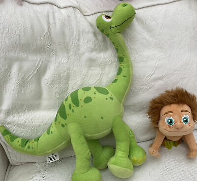 The Good Dinosaur Arlo & Spot Soft Toys Disney • 5£