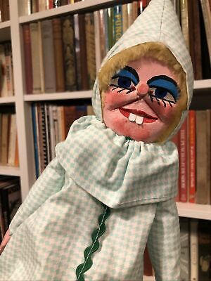 Professional Hand Carved Punch And Judy Baby Puppet  • 30£