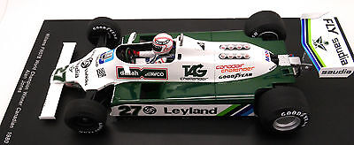 Figurine 1/18  Alan  Jones  Vroom  Non  Peint  For  Williams  Spark  Minichamps • 22.32£