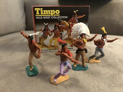 Timpo Boxed Americans Lot 1 Swoppets • 30£