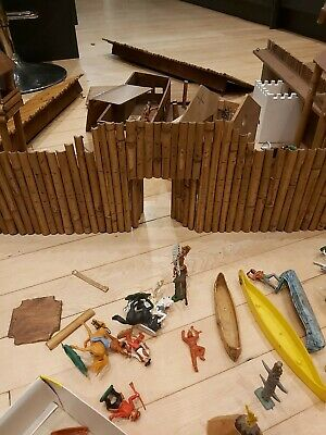 Homemade Fort Timpo, Airfix,  Britains Cowboys & Indians Repair Project • 5£