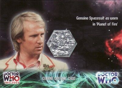 Doctor Who 40th Anniversary Spacesuit CC2 Costume Card • 39.99£