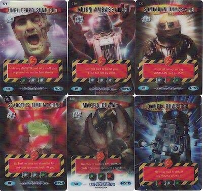 Doctor Who Ultimate Monsters Ultra Rare Selection Battles In Time • 4.99£