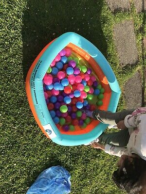 Swimming Pool With Multi Colour Balls • 4.50£