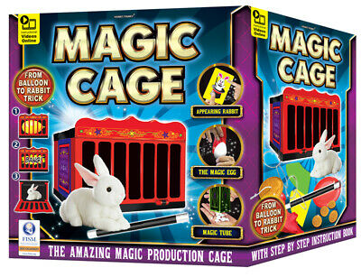 Magic Set Amazing Magic Production Cage • 19.95£