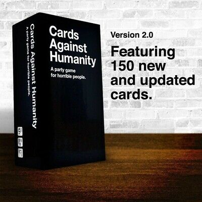Cards Against Humanity UK V2.0  Latest Edition New 600 Cards UK SELLER • 10.99£