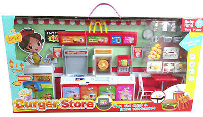 Burger Store Pretend Role Play Toy Shop Xmas Gift NEW • 19.99£