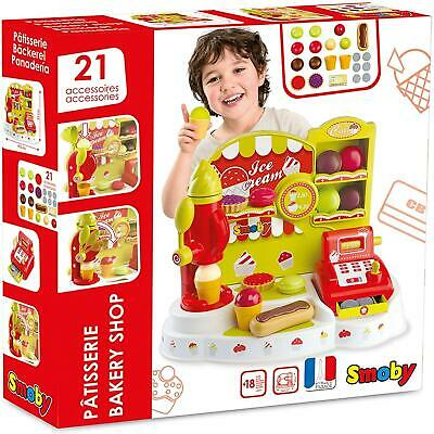 Smoby - BAKERY SHOP - 21 Accessories - Pretend Play - NEW • 39.99£