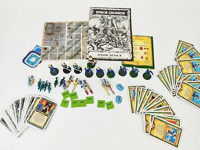 Eldar Attack - Space Crusade Complete Expansion Unglued Unboxed [ENG, 1991] • 149.95£