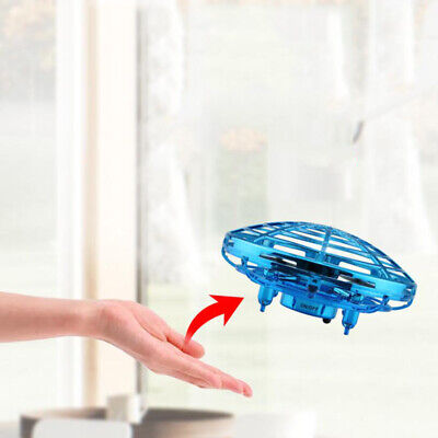 Mini Drone Quad Induction Levitation UFO Flying Toy Hand-controlled Aircraft Kid • 7.50£