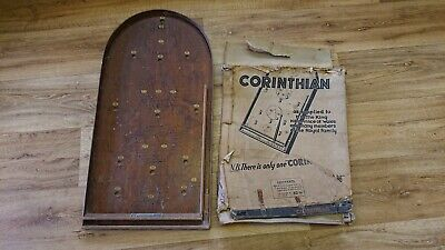 Vintage Corinthian Bagatelle Pinball Game Excellent Condition Pub Board Game • 51£