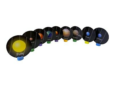 Solar System Flashcards Set Planets Flash Cards Teaching Planets Display Kids • 2.89£