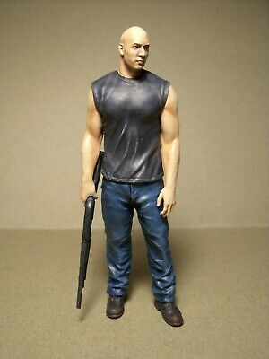 1/18 Figure  Fast And Furious  Vin Diesel  Vroom  Unpainted  For  Mattel  Schuco • 25£