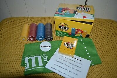 M&m's Peanut Collection Poker Family Game New • 6£