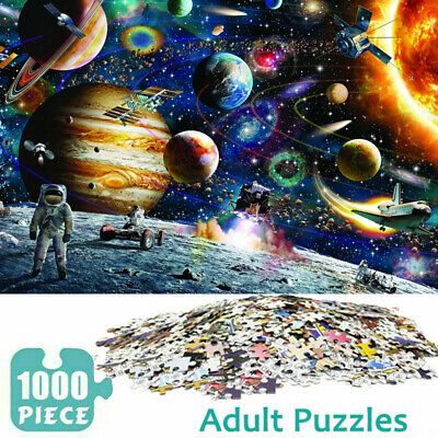 1000 Piece Large Jigsaw Puzzle For Adults Kids Family Educational Challenge Game • 9.59£