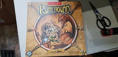 Runebound 2nd Edition (fantasy Flight) 2 Expansions And Painted Minis • 37£