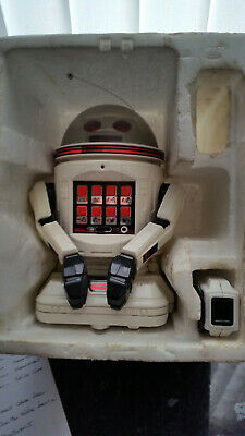 Vintage Tomy Verbot With Remote And Original Box. Voice Program. • 5£
