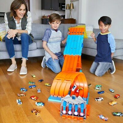 Hot Wheels Track Builder System Race Crate Toy Cars Playset Interactive Play Fun • 58.51£