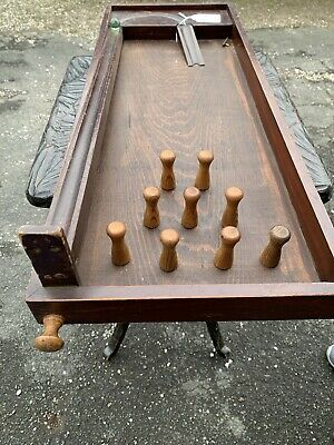 Wooden Bagatelle Game 1930s • 40£
