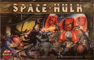 SPACE HULK Board Game COMPLETE 1st Edition Warhammer 40k Space Marines • 46£
