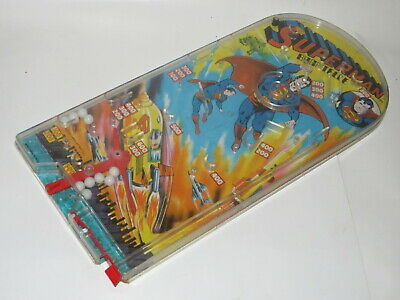 Vintage Retro Superman DC Comics Bagatelle Pinball Game 1978 Super Hero Working • 39.99£