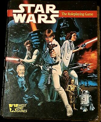 Star Wars - The Roleplaying Game (RPG) 1987 • 5£