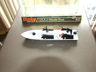 A.dinky Toys O.s.a.2. Missile Boat.672 • 57£