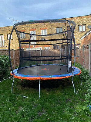 Jump Power 10ft Trampoline And Enclosure In Excellent Condition • 85£